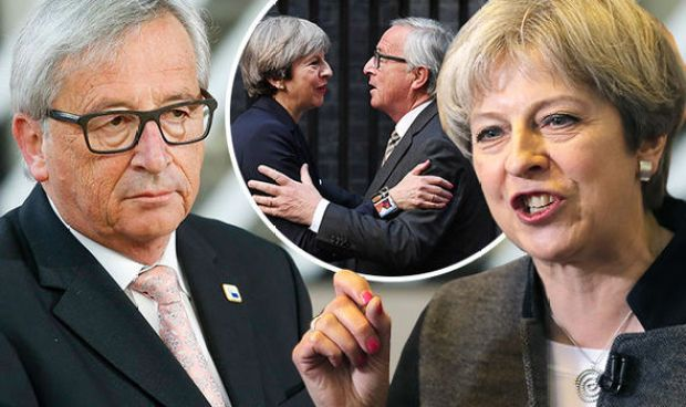 Theresa May told Jean Claude Juncker to be patient
