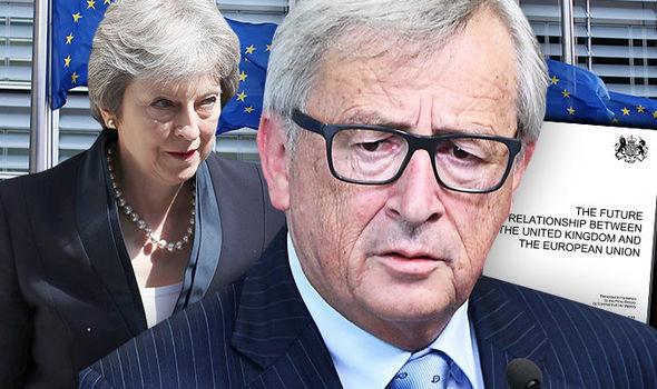 Brexit Nachrichten UK EU Theresa Mai Weißbuch