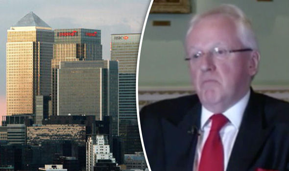 Andrew Parmley and City of London business