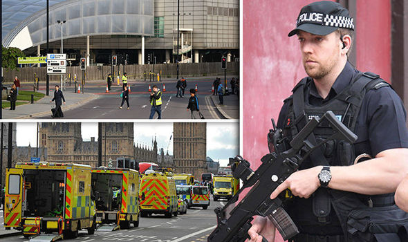 Manchester terror attack images after bombing