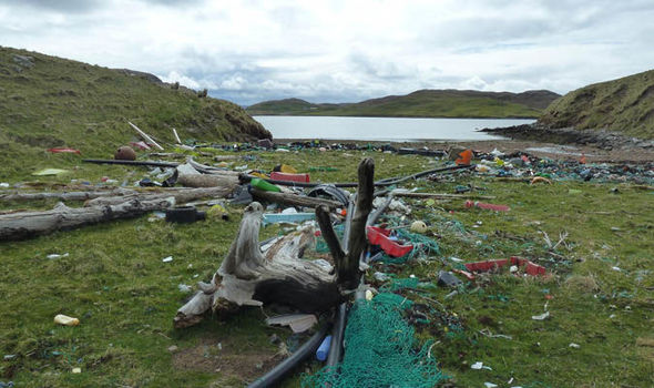 Litter has destroyed beautiful areas of Shetland