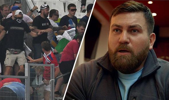 Russian hooligans warn England fans