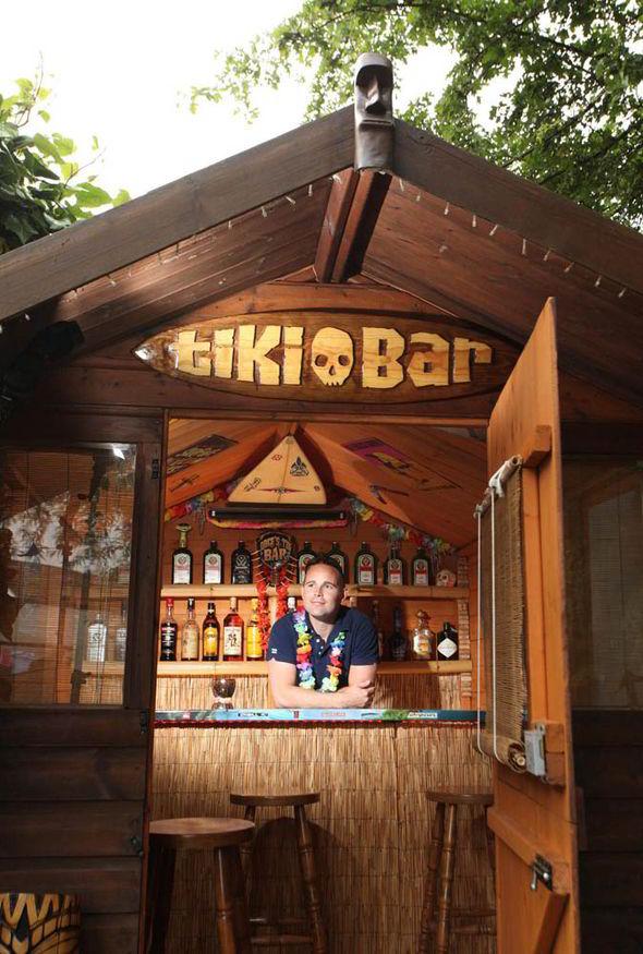 Shed Bars Ideas | Joy Studio Design Gallery - Best Design on Backyard Tiki Bar For Sale id=85549