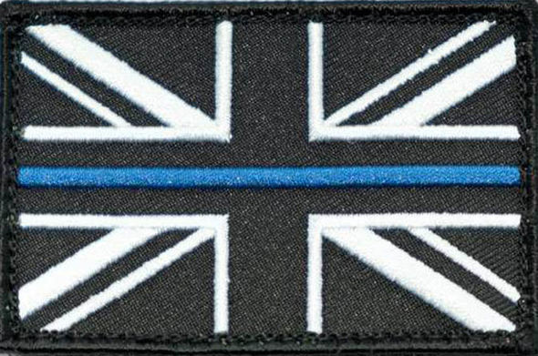 The thin blue line badge