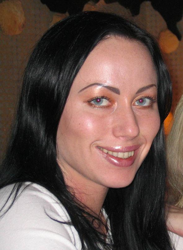 Ganna Ziuzina smiling