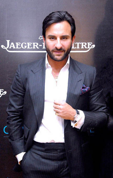 Bollywood actor Saif Ali Khan