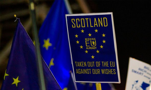 Brexit: Scotland voted overwhelmingly to remain a part of the EU in 2016