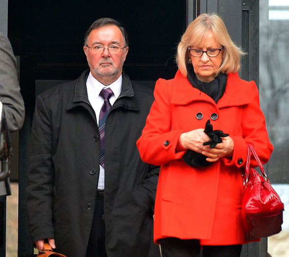 Christopher spared jail after wife Shirley made an impassioned plea to the court judge