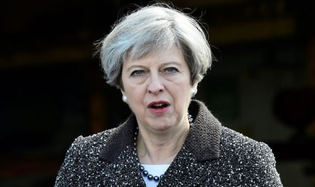 Theresa May is leading Britain into the EU divorce