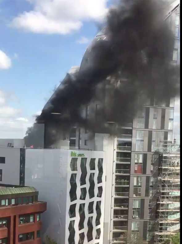 Ealing hotel fire