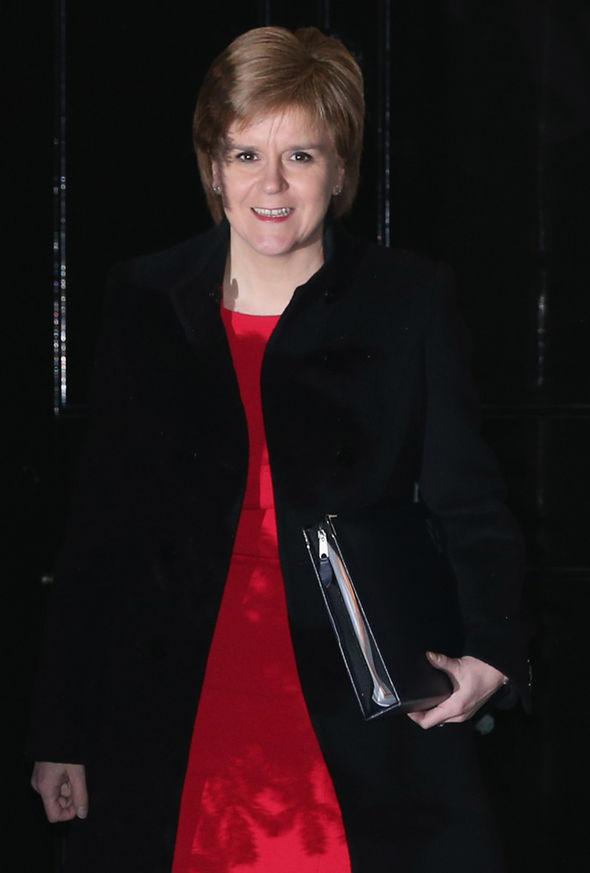 Nicola Sturgeon,