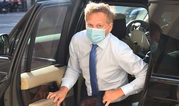 Grant Shapps made masks mandatory on public transport