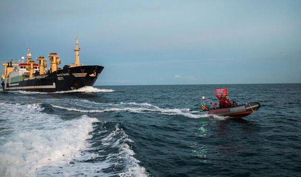 Greenpeace English Channel