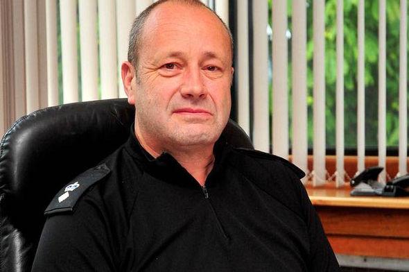 Police Scotland Chief Supt Grant Manders