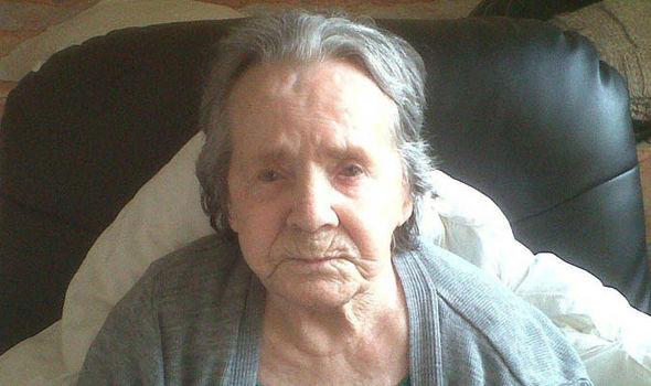 Dementia sufferer Ivy Robinson