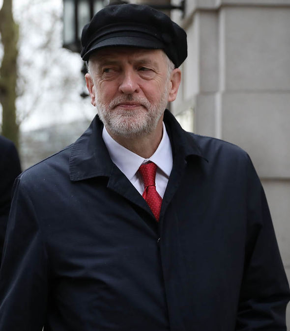 Jeremy Corbyn walking