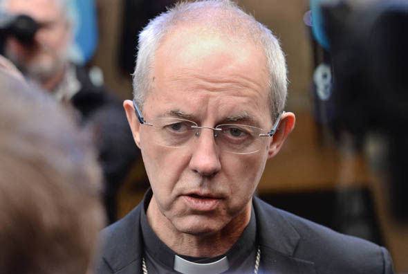 Justin Welby in London