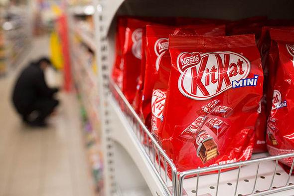 Kit Kat packs