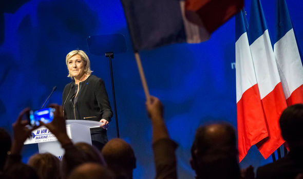 Le Pen launched her presidency bid in Lyon at the weekend