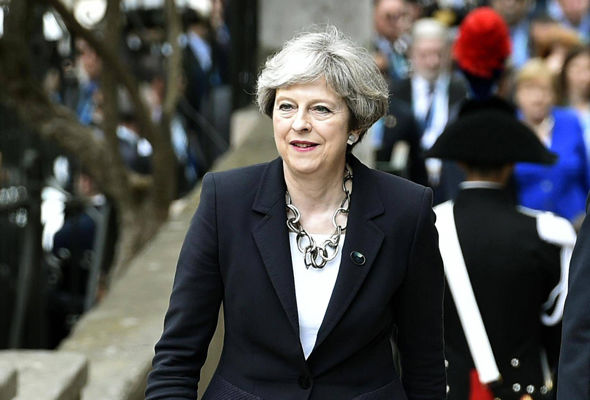 Prime Minister Theresa May has indicated she is willing to walk away from the EU without a deal