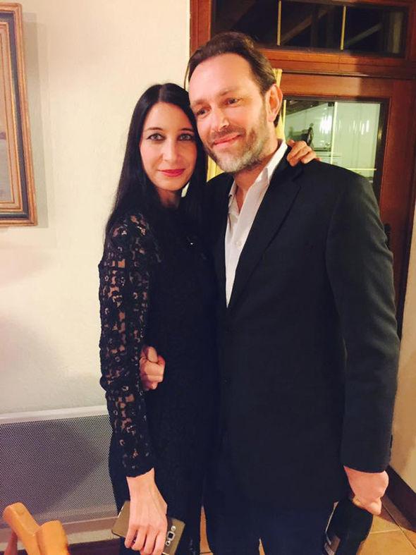 Xavier Thomas and his girlfriend Christine Delcros