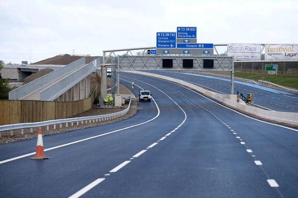 General view of motorway