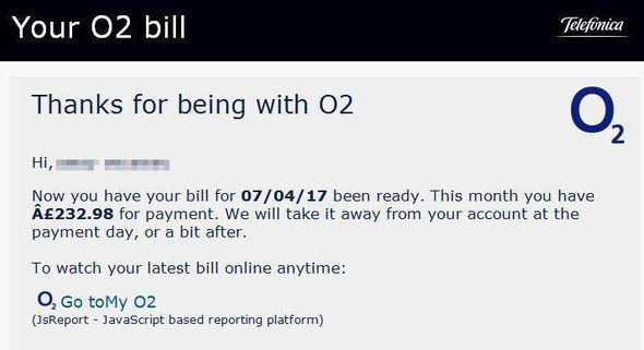 O2 customers have fallen victim to the scam emails