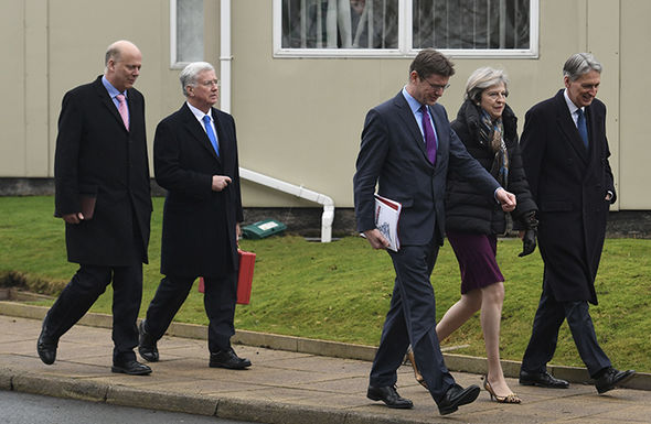 May, Fallon have been in talks with other ministers discussing self-defence tactics