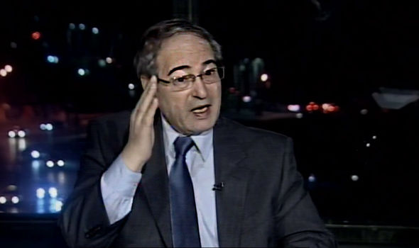 Mr Davis could not believe Mr Faisal's claims about the legitimacy of Assad