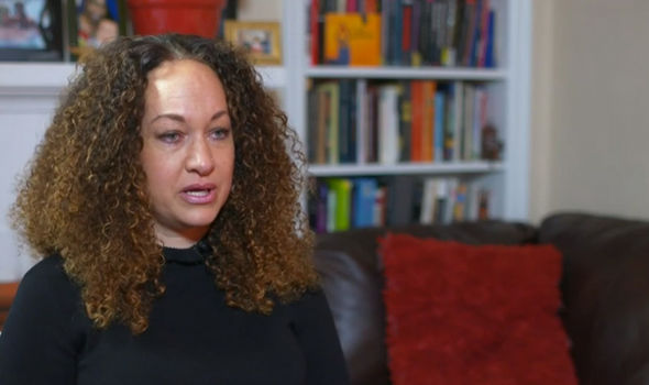 Ms Dolezal gave an emotional interview from her home in Spokane, Washington