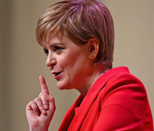 Ms Sturgeon cash votes