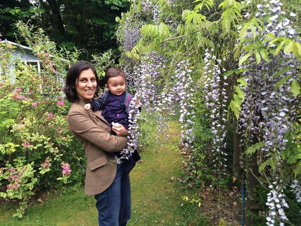 Nazanin Zaghari-Ratcliffe and her daughter