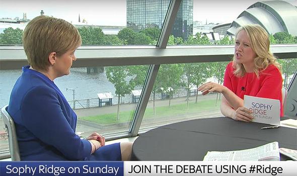 The Sky News host