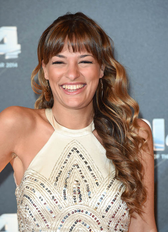 Nicola Benedetti laughing