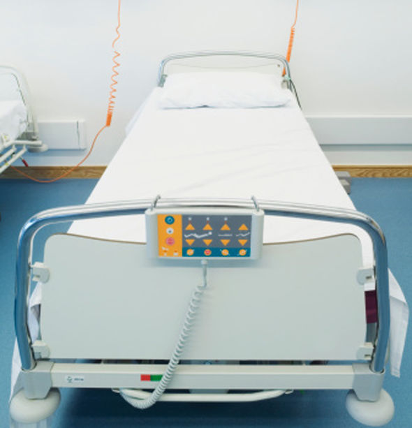 Patient finally moves from his bed after order