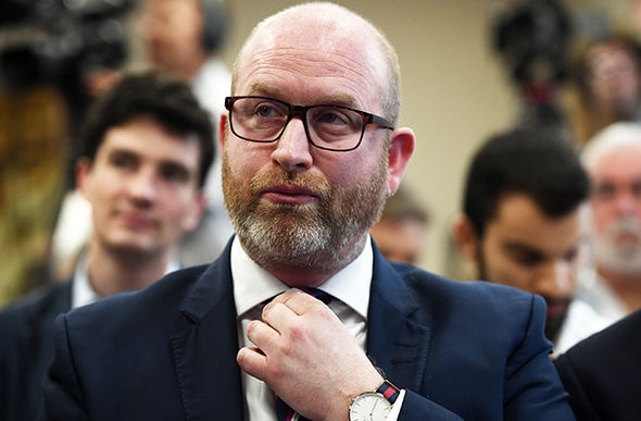 Paul Nuttall inadvertently said Trump should be left to make decisions