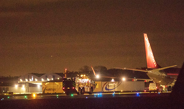 Police added that all passengers onboard the Jet2 flight were safe