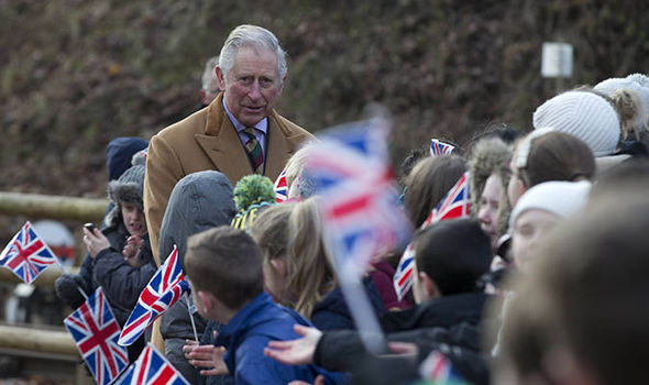Prince Charles visited a heritage centre