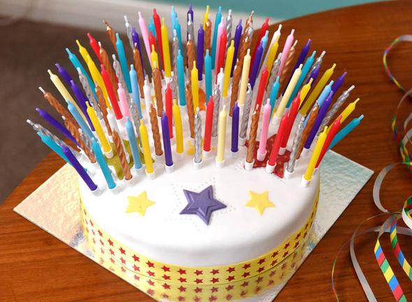 Robert Weighton's 109th birthday cake