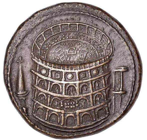 Roman bronze coin