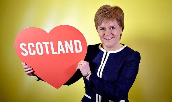 SNP election Theresa May tweet