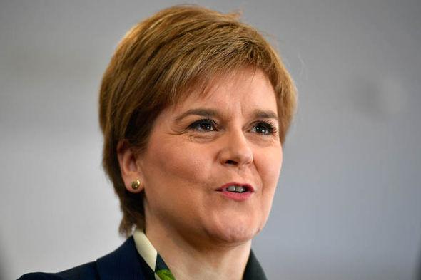 Nicola Sturgeon smiling