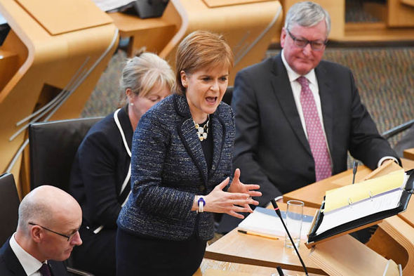 Sturgeon came under fire from all sides
