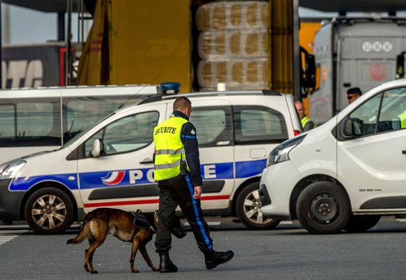 Security in Calais