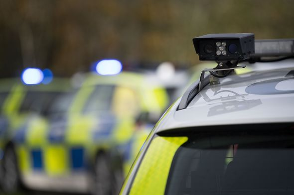 Stock image of Wales Police