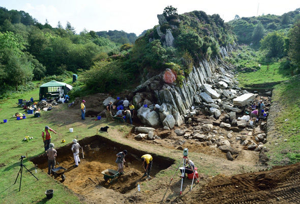 Excavations at Craig Rhos-y-felin   Stonehenge will have been inbuilt Wales, consistent with new proof discovered through archaeologists Stonehenge 408942