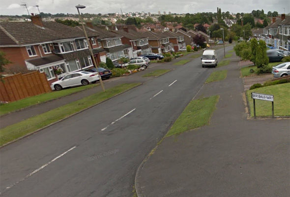 The girl was in was in Teasdale Way, Wollescote when she says she was taken