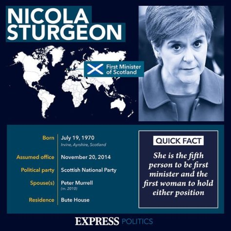 Sturgeon profile: She took over as First Minister following the failed 2014 referendum