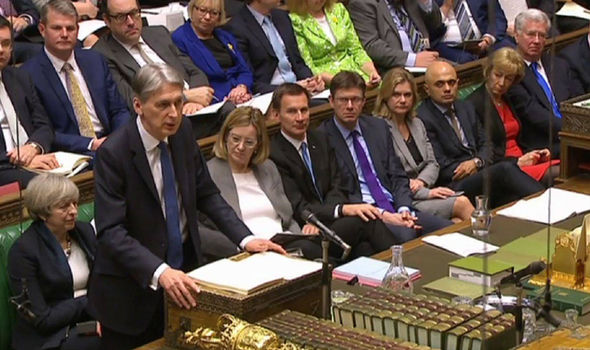 The Chancellor delievered his Budget Speech in the Commons on Wednesday