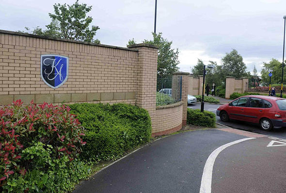 Front of The Kings Academy